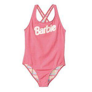 Barbie  x ROXY Girl's Pink One Piece